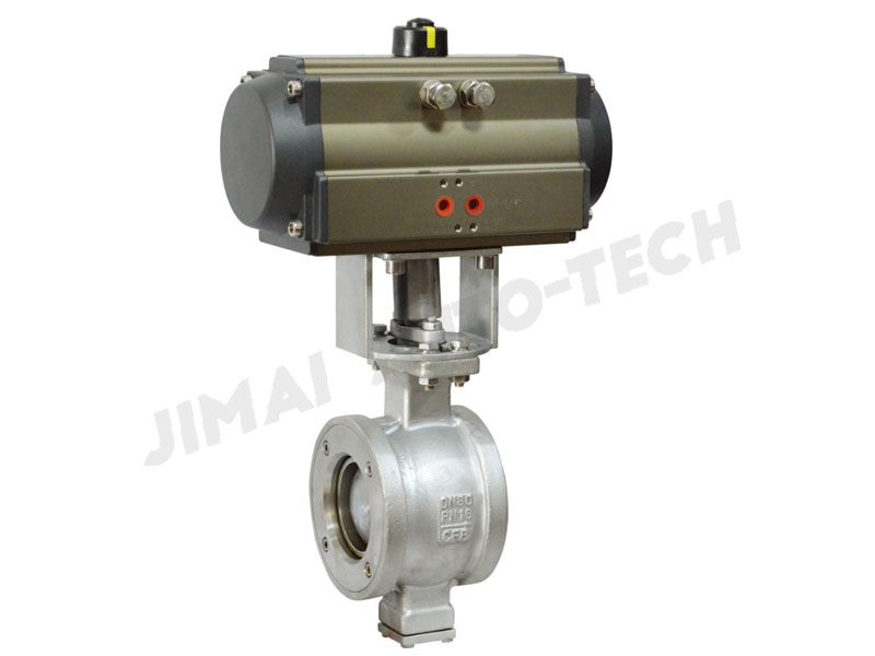 Wafer V-type Ball Valve
