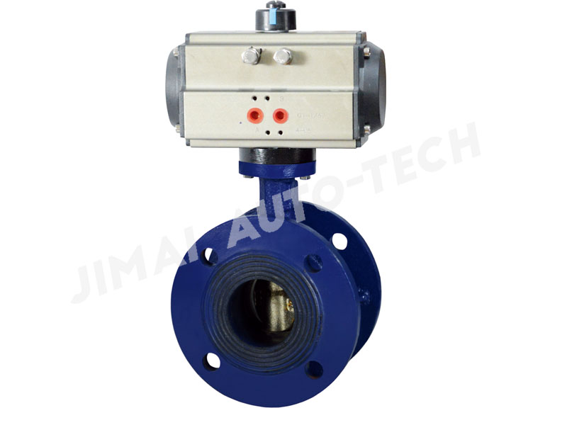 Flanged Soft-seal Butterfly Valve