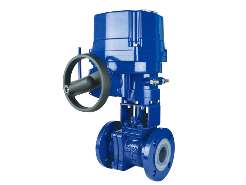 Lined Flange Ball Valve